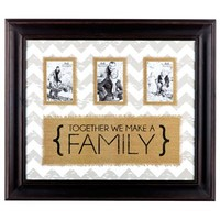 Together We Make a Family Chevron Frame | Shop Hobby Lobby