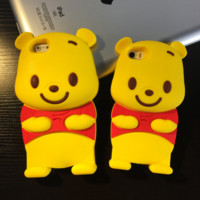 Winnie the pooh Phone Cases Animal Silicone