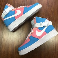 Nike Air Force One fashion high-top casual sneakers for both men and women-2
