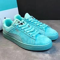 Puma x Diamond Women Fashion Old Skool Sneakers Sport Shoes