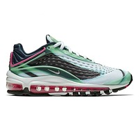 Nike Air Max Deluxe GS Enamel Green Metallic Silver AR0115 301 Youth Sizes
