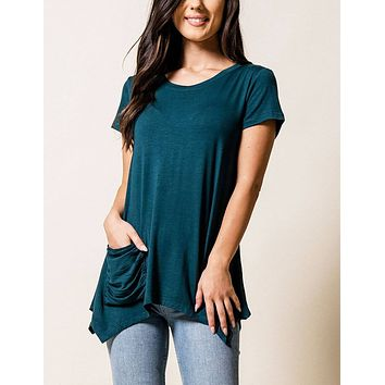 Cora Pocket Top