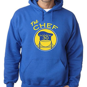 "Steph Curry Golden State Warriors ""The Chef"" Hooded Sweatshirt ADULT MEDIUM"
