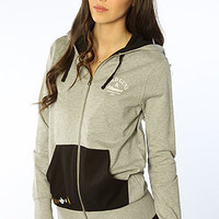 Crooks and Castles The G3 Zip Hoody in Heather Grey : Karmaloop.com - Global Concrete Culture
