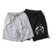 Summer Pants Zippers Casual Beach Shorts [6543160899]