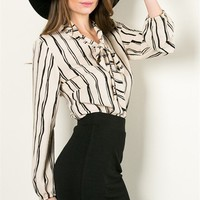 Amy Striped Blouse