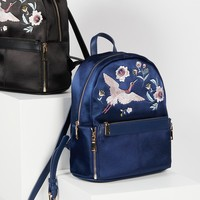 Free People Magic Gardens Satin Backpack
