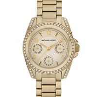 Michael Kors Mini Blair Watch, Golden