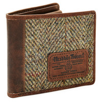 One Kings Lane - The Prepster - Harris Tweed Wallet, Tan