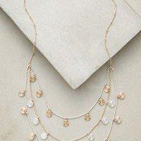 Bezant Layer Necklace by Anthropologie in Gold Size: One Size Necklaces