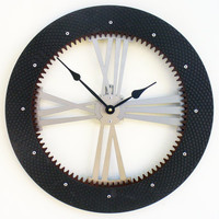 Drive Shaft I Modern Wall Clock (Large)