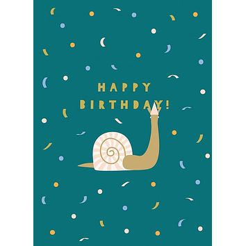 A Little Late Happy Birthday Greeting Card