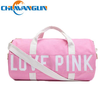 CHUWANGLIN women canvas handbag large capacity Travel bag casual shoulder multi-function Duffel bag New fashion Beach bags