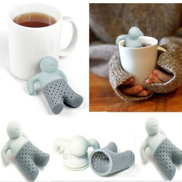 Cartoon Character Tea Leaf Strainer Silicon Filter Rubber Tea Infuser = 1946699524