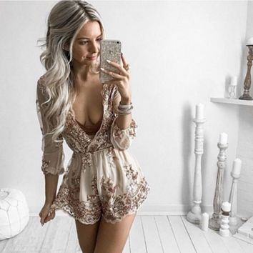 All of the Lights Romper
