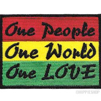 One People One World One Love Patch on Sale for $3.99 at HippieShop.com