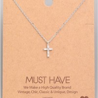 Must Have Cross Necklace