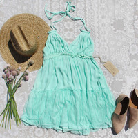 The 80 Degree Dress in Mint