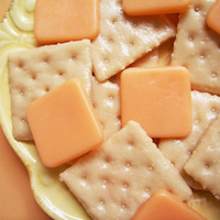 Crackers With Cheese Soap Set by LoveLeeSoaps on Etsy