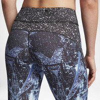The Nike Epic Lux 2.0 Women's Printed 7/8 Running Tights.
