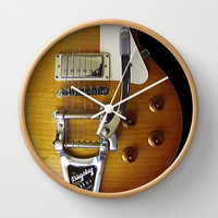 Slash Snakepit electric guitar Decorative Circle Wall Clock Watch by Three Second