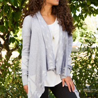 Wild At Heart Cardigan - Grey