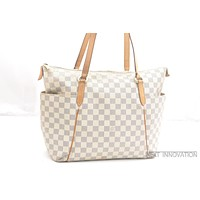 Tagre™ Authentic Louis Vuitton Damier Azur Totally MM Tote Bag N51206 LV 39676