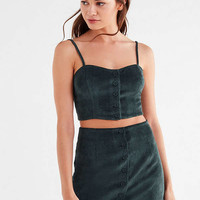 UO Corduroy Button-Down Skirt | Urban Outfitters