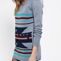 Staring At Stars Western Intarsia Tunic Sweater - Urban Outfitters