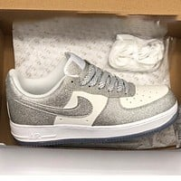 Nike Air Force 1 '07 LV8 3 3D Fashion New Shining Sports Leisure Shoes Women