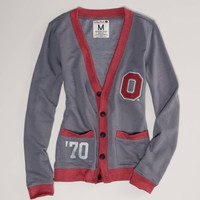 Ohio State Vintage Varsity Cardigan   American Eagle Outfitters
