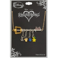 Disney Kingdom Hearts Keyblade Charm Necklace