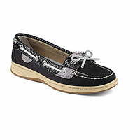 Sperry Top-Sider Angelfish Fishscale Boat Shoes - Cognac/Gold