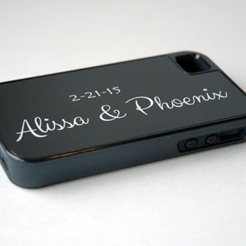 Monogram Phone Cases + His and Hers Phone Cases, iPhone 6 Case, 6+ Case, Couples Phone Cases