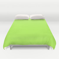 Green Duvet Cover by Beautiful Homes