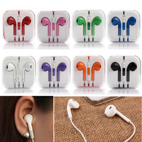 Earphones For Apple iPhone 5 6S 6 Plus Headphone Earpods Earbuds Handsfree W/Mic