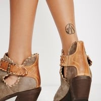 Free People Walk The Line Ankle Boot