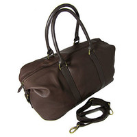 Corporate Gift Leather Weekend Bag