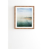 Bree Madden Santa Monica Framed Wall Art