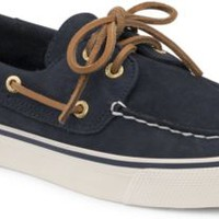 Sperry Top-Sider Bahama Washable 2-Eye Boat Shoe Navy, Size 8.5M  Women's Shoes
