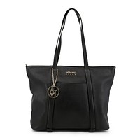 Armani Jeans - Women's Leather Zip Bag