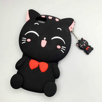 Lovely smile cat phone case for iphone 6 6s 6 plus 6s plus + Nice gift box 072301