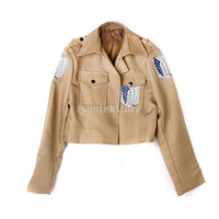 Attack On Titan Wings Of Liberty Jacket Coat Shingeki No Kyojin Scouting Legion Cosplay Costume = 1929580420