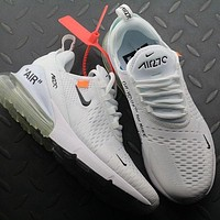 OFF White Nike Air Max 270 AH8050-100 Sport Running Shoes