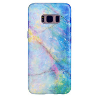 Blue Opal Galaxy Case