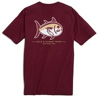 Florida State University Mascot Tee Shirt in Chianti by Southern Tide