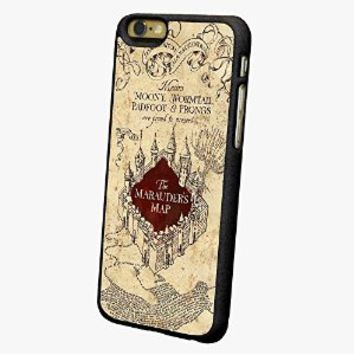 "The Marauders Map Harry Potter Iphone 6s Case, Iphone 6 4.7"" Case, Iphone 6 Plus 5.5"" Case (Iphone 6 Plus)"