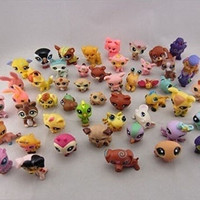 10x Littlest Pet Shop Cute Cat Dog Animal Figures Collection Random Child Toy HT (Color Multicolor) 2015 = 1929916036