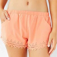 Without Walls Laser-Cut Short - Urban Outfitters