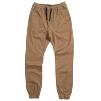 Sureshot Chino Jogger Pants Cinnamon